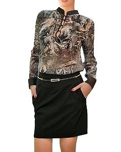 Блузка из шифона | Б861-1866