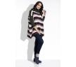 Купить свитер oversize с рукавами-манжетами Fobya I211