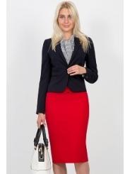 Красная юбка-карандаш Emka Fashion 369-rostislava