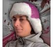 стильная зимняя шапка
