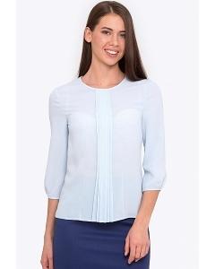 Женская блузка с рукавом 3/4 голубого цвета Emka b 2170/cameron