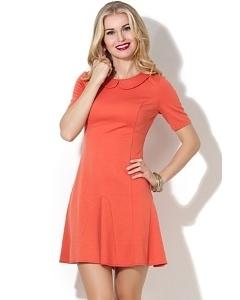 Молодёжное платье с воротничком Donna Saggia DSP-29-31t