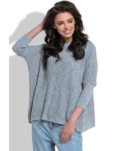 Лёгкий объёмный свитер Fobya F514