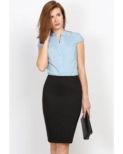 Чёрная офисная юбка Emka Fashion 533-djodi
