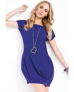 Платье-туника синего цвета Zaps Noa