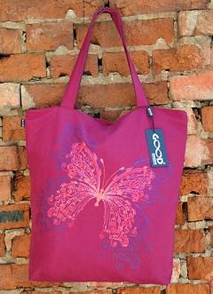 Яркая клубная сумка Magic Butterfly