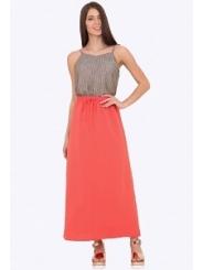 Длинная юбка на резинке Emka Fashion 715/lolla