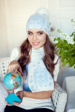 Комплект (шапка+шарф) Landre Джейн