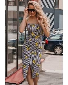 Платье футляр из хлопковой ткани Donna Saggia DSP-326-93