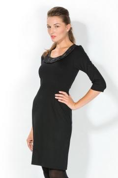 Черное платье Remix