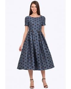 Приталенное платье с пышной юбкой Emka PL-648/oliver