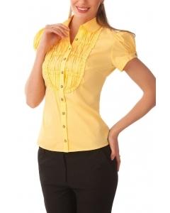 Летняя офисная блузка