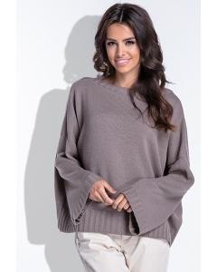 Женский свитер оверсайз Fobya F429