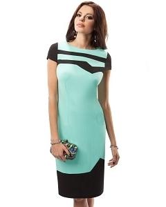 Платье мятного цвета Enny 17048
