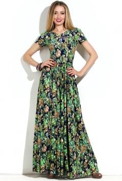 Длинное трикотажное платье Donna Saggia DSP-147-79t