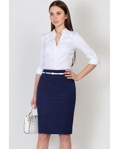 Тёмно-синяя юбка Emka Fashion 202-60/rufina