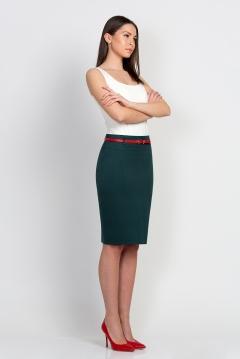 Юбка зеленого цвета Emka Fashion 202-60/felixa