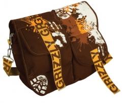 Стильная коричневая сумка Grizzly | СМ-1024