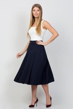 Юбка тёмно-синего цвета Emka Fashion 525-efima
