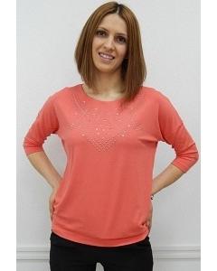 Джемпер кораллового цвета Sunwear N38-4