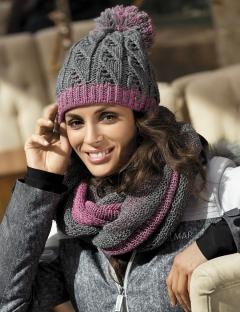 Тёплая шерстяная шапочка Kamea Catrina