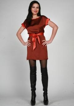 Короткое платье Chertina&Durre