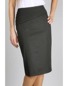 Чёрная юбка Emka Fashion | 267-leticia