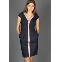 Короткое платье Emka Fashion | 179-rubi1