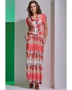 Длинное платье TopDesign A4 007