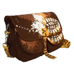 Коричневая сумка Grizzly | СМ-1022