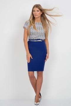 Офисная юбка Emka Fashion 548-afriza
