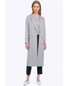 Длинное минималистичное женское пальто Emka R009/djisella