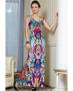 Длинное летнее платье TopDesign Premium PA4 18