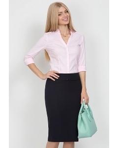 Тёмно-синяя юбка Emka Fashion 369-olesya