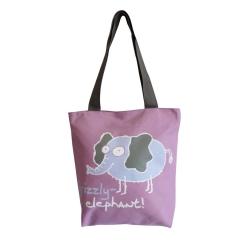 Светло-сиреневая сумка Grizzly | ДМ-1243