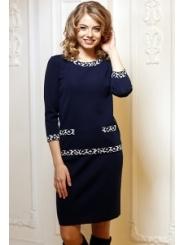 Тёмно-синяя юбка Andovers 305604