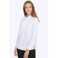 Белая женская рубашка Emka B2266/vonda