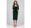 Бархатное платье-футляр Donna Saggia DSP-313-44t