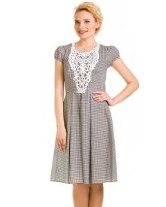 Платье в мелкую клеточку | 1772