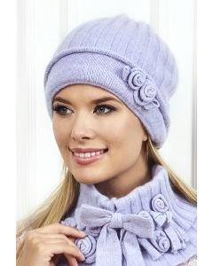 Сиреневая шапка Landre Беатрис