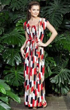 Длинное платье Topdesign Premium PA3 22