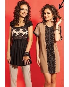 Короткое летнее платье платье TopDesign A5 057