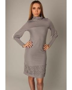Платье с длинным рукавом | 3384