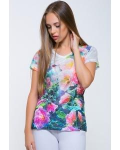 Женская футболка ярких оттенков Issi 171101