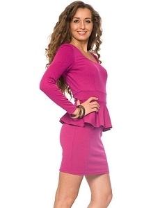 Яркое молодежное платье | DSP-59-38t