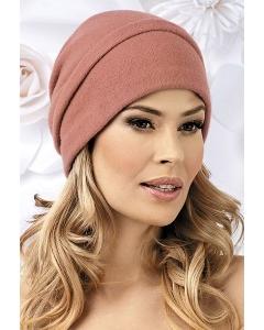 Женская шерстяная шапка-бандана Willi Halka