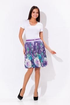 Летняя фиолетовая юбка Remix