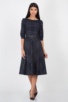 Платье в клетку Emka Fashion PL-407/aliana