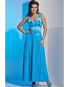 Длинное летнее платье без рукавов TopDesign A4 153