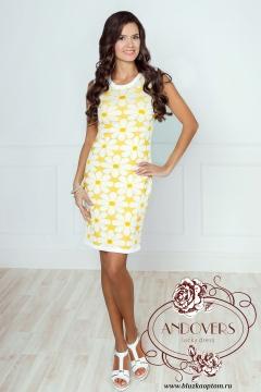 Платье из вязанного трикотажа Andovers 406634